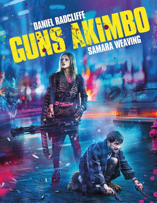 دانلود فیلم اسلحه های آکیمبو با دوبله فارسی Guns Akimbo 2019