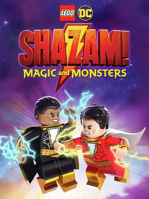 دانلود انیمیشن LEGO DC: Shazam - Magic & Monsters 2020