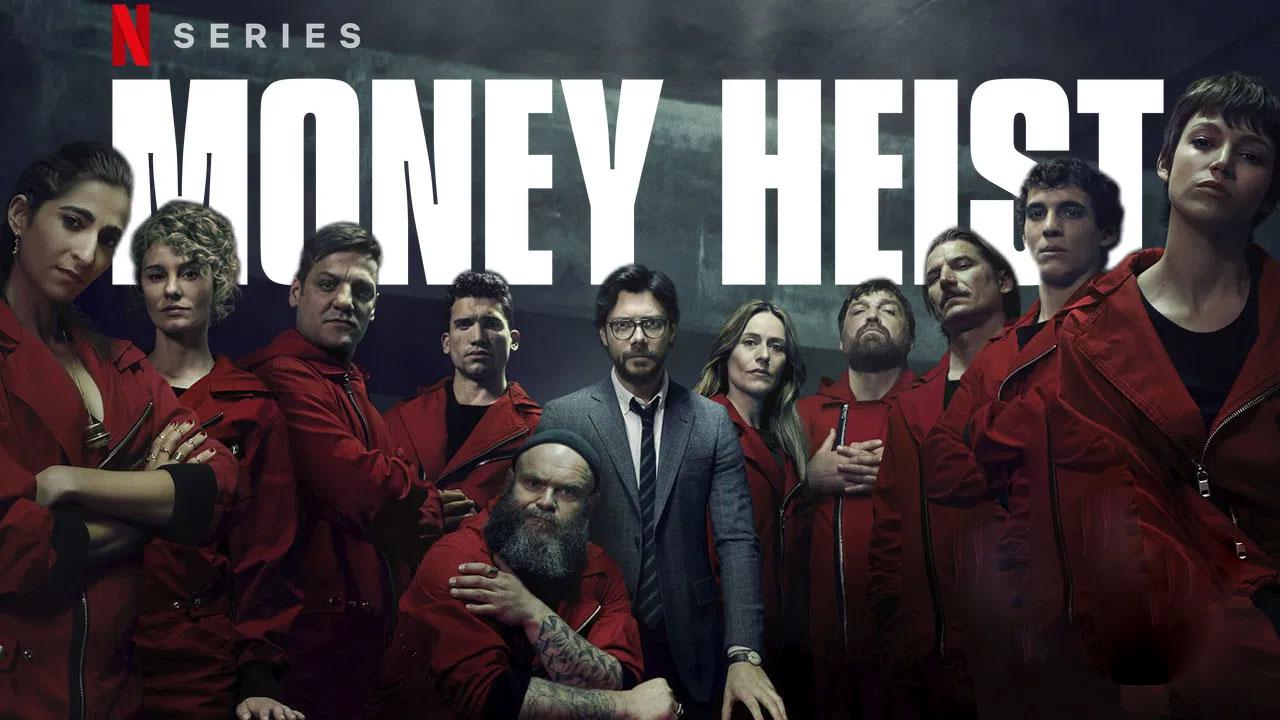 دانلود دوبله فارسی سریال خانه کاغذی فصل چهارم Money Heist 2020