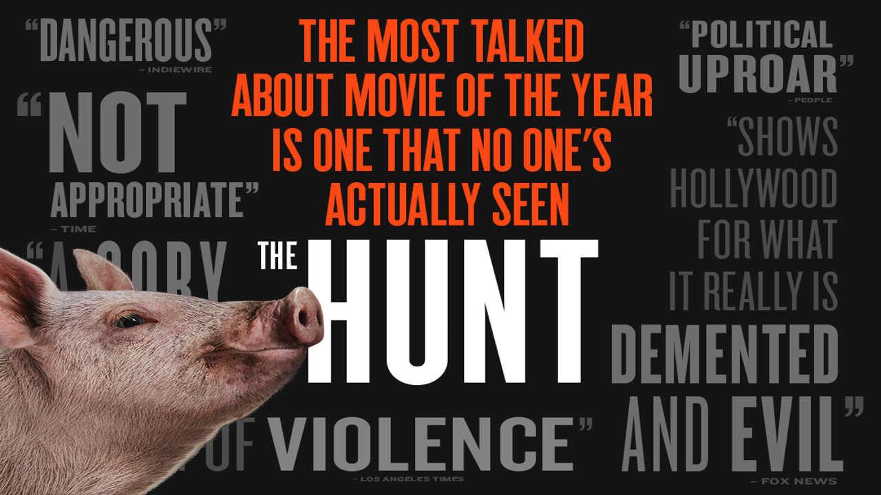 دانلود فیلم ترسناک شکار با دوبله فارسی The Hunt 2020 BluRay