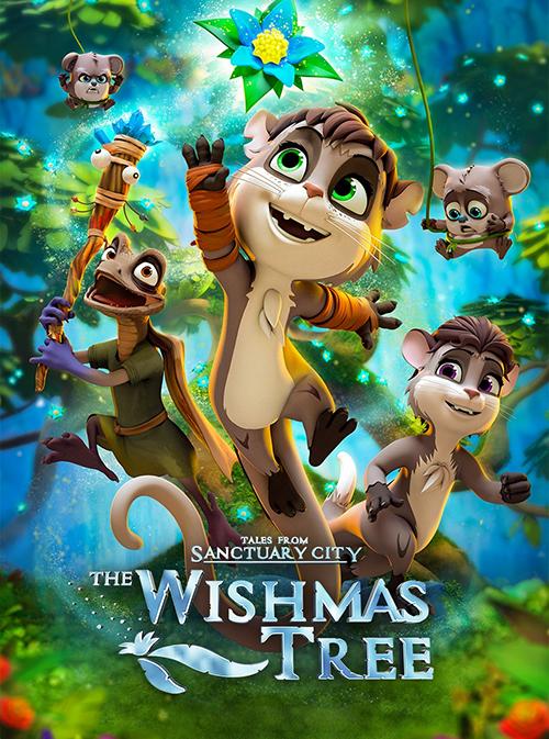 دانلود انیمیشن درخت آرزوها با دوبله فارسی The Wishmas Tree 2020