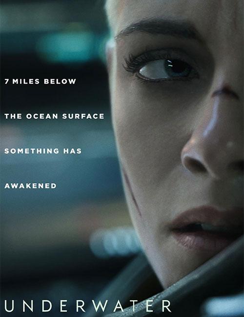 دانلود فیلم زیر آب با دوبله فارسی Underwater 2020