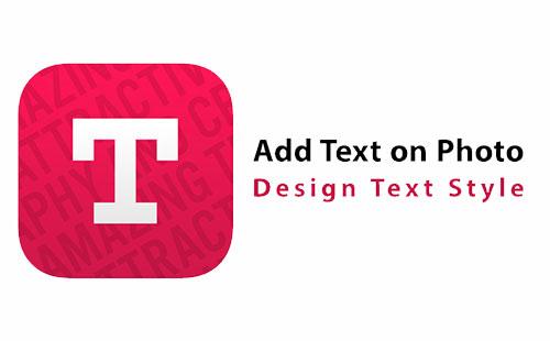 دانلود اپلیکیشن تایپوگرافی Add Text on Photo 6.9.2