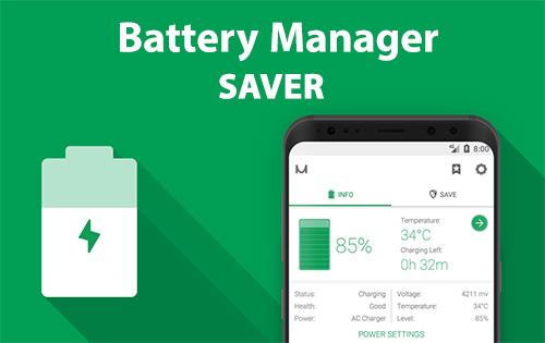 مدیریت مصرف باتری با اپلیکیشن Battery Manager 8.0.0