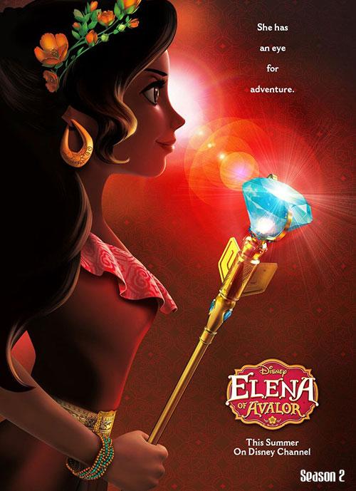 دانلود فصل دوم انیمیشن النا و راز آوالور Elena of Avalor 2017
