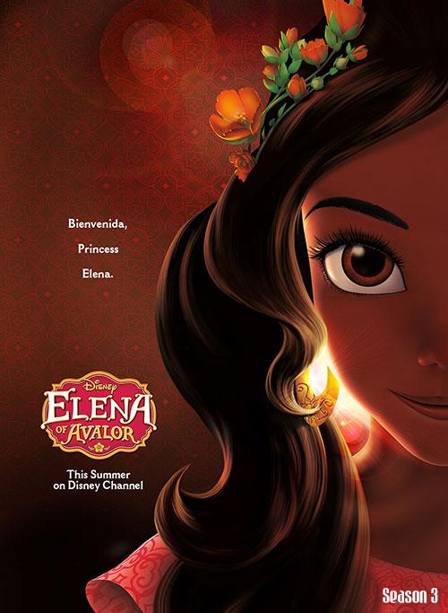 دانلود فصل سوم انیمیشن النا و راز آوالور Elena of Avalor 2019