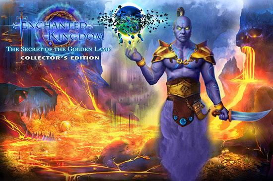دانلود بازی Enchanted Kingdom 7: The Secret of the Golden Lamp Collector's Edition