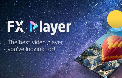 دانلود مدیا پلیر FX Player: video media player 2.0.5