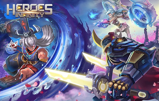 دانلود بازی Heroes Infinity: God Warriors v1.31.7L