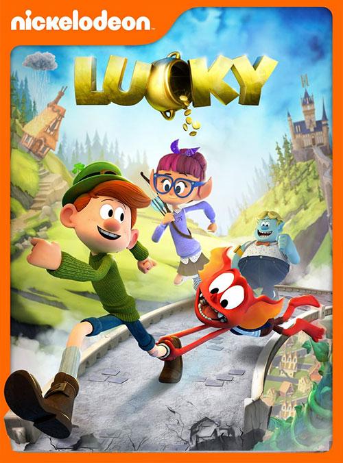 دانلود انیمیشن خوش شانس با دوبله فارسی Lucky 2019