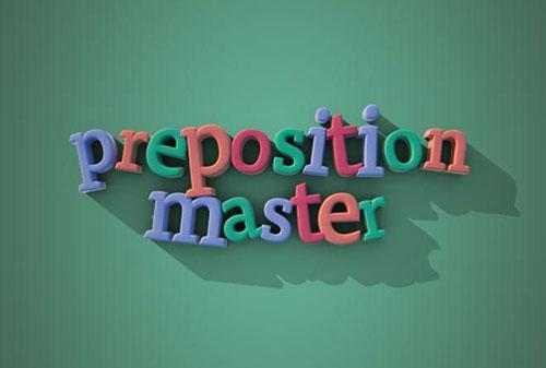 آموزش گرامر زبان انگلیسی با اپلیکیشن Preposition Master 1.4