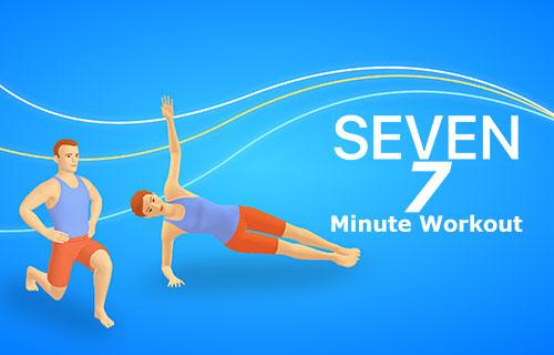 ورزش در هفت دقیقه با اپلیکیشن Seven: 7 Minute Workout 9.2.2