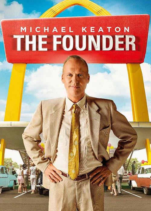 دانلود فیلم بنیان گذار با دوبله فارسی The Founder 2016