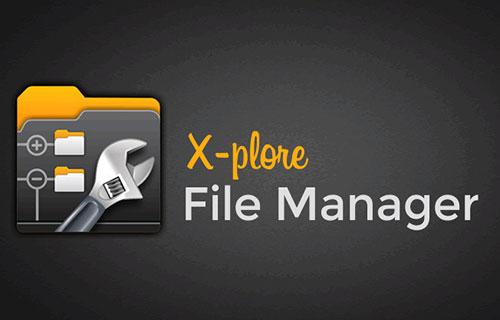 مدیریت فایل با اپلیکیشن X-plore File Manager 4.20.04
