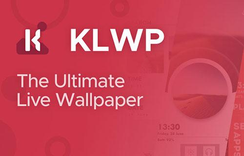 ساخت لایو والپیپر با اپلیکیشن KLWP Live Wallpaper Maker v3.46