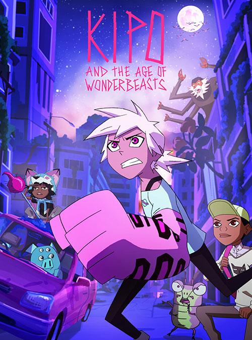 فصل دوم انیمیشن کیپو و عصر هیولاهای عجیب Kipo and the Age of Wonderbeasts