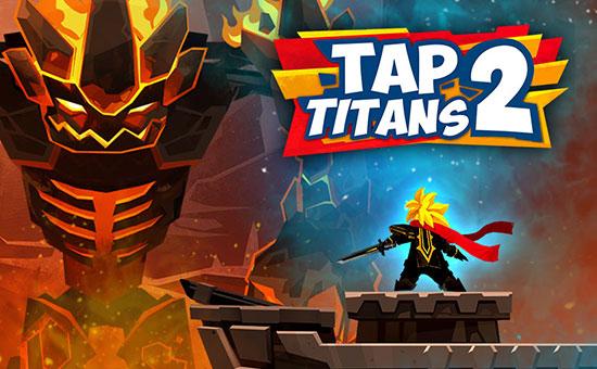 دانلود بازی Tap Titans 2 v3.10.2