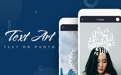 ساخت عکس نوشته با اپلیکیشن TextArt v1.7.1