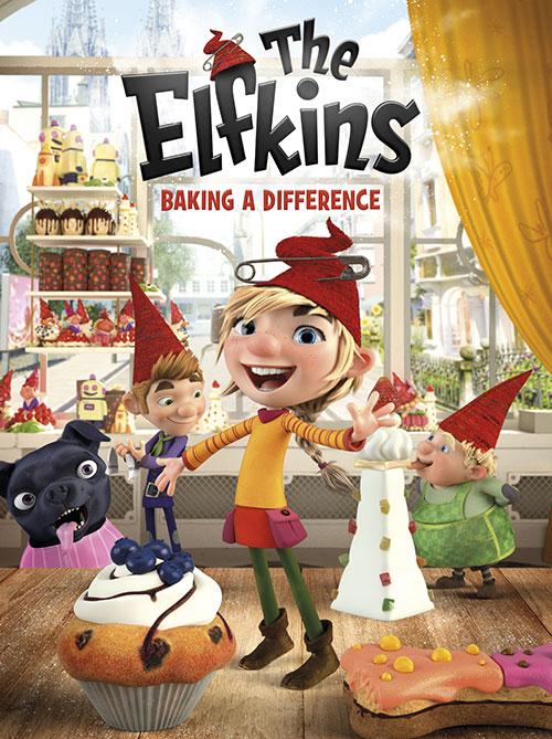 دانلود انیمیشن The Elfkins: Baking a Difference 2019