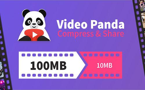 فشرده سازی ویدئو با اپلیکیشن Video Compressor Panda 1.1.9