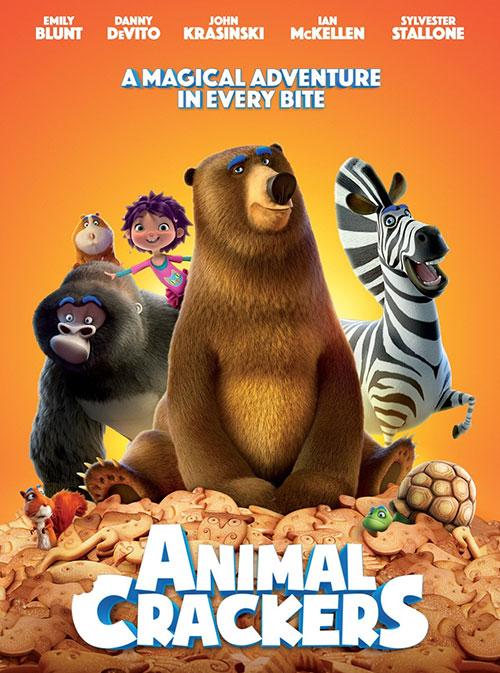 دانلود انیمیشن بیسکوئیت حیوانی با دوبله فارسی Animal Crackers 2017