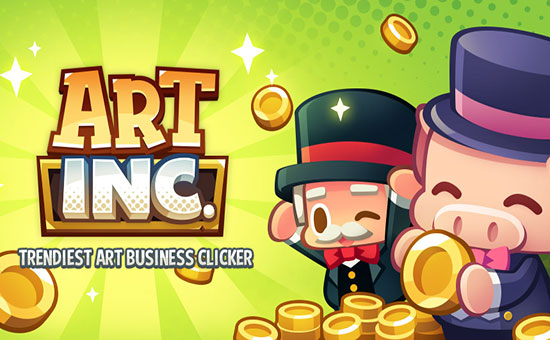 دانلود بازی Art Inc: Trendy Business Clicker 1.14.12
