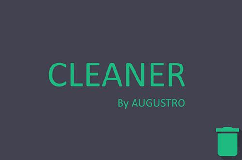 دانلود اپلیکیشن پاک کننده آگوسترو Cleaner by Augustro 5.4.pro