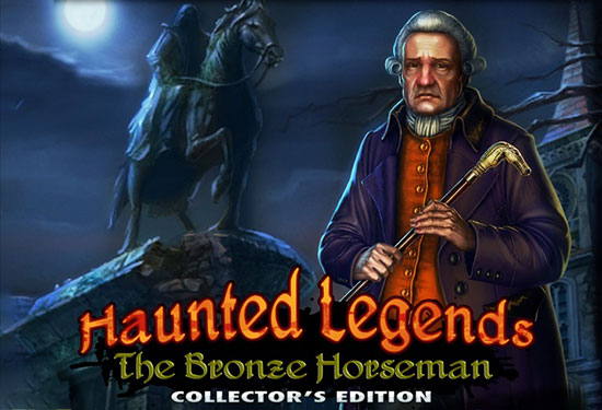 دانلود بازی Haunted Legends 2: The Bronze Horseman Collector's Edition