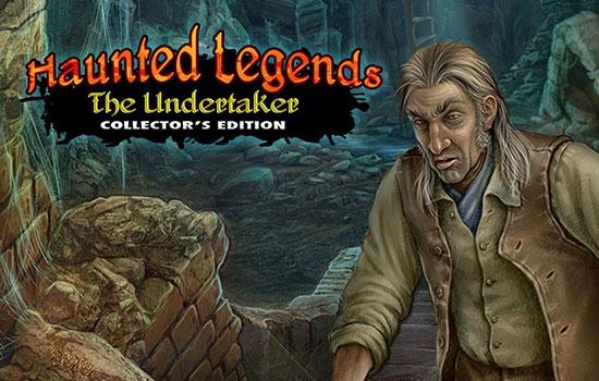 دانلود بازی Haunted Legends 3: The Undertaker Collector's Edition