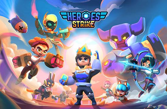 دانلود بازی Heroes Strike Offline v48