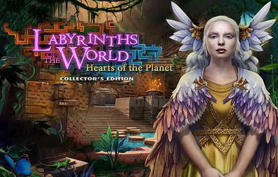 دانلود بازی Labyrinths of the World 12: Hearts of the Planet Collector's Edition