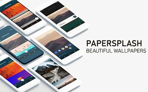 دانلود تصاویر پس زمینه با اپلیکیشن PaperSplash PRO 1.13