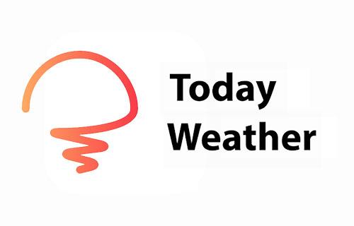 پیش بینی آب و هوا با اپلیکیشن Today Weather 1.5.0
