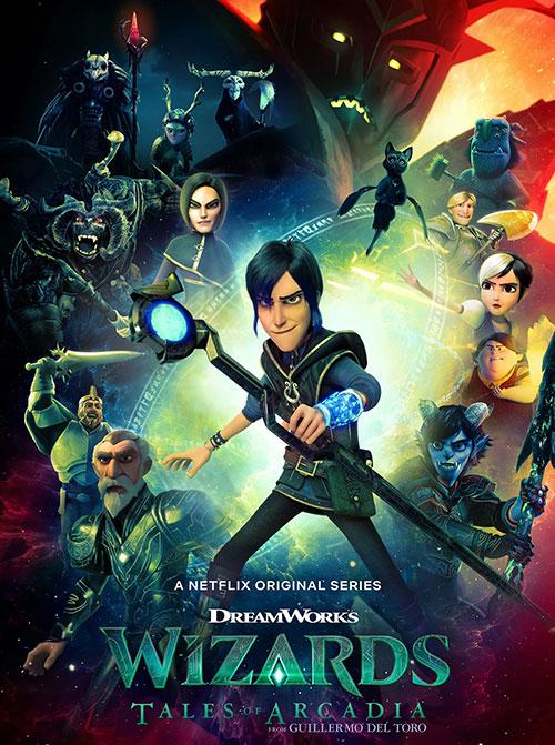 دانلود فصل اول انیمیشن جادوگران: داستان های آرکادیا Wizards: Tales of Arcadia 2020