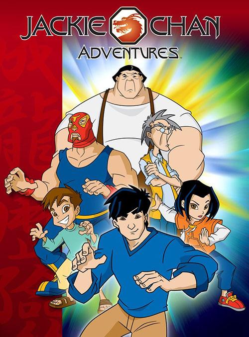 دانلود انیمیشن ماجراهای جکی چان Jackie Chan Adventures 2000-2005