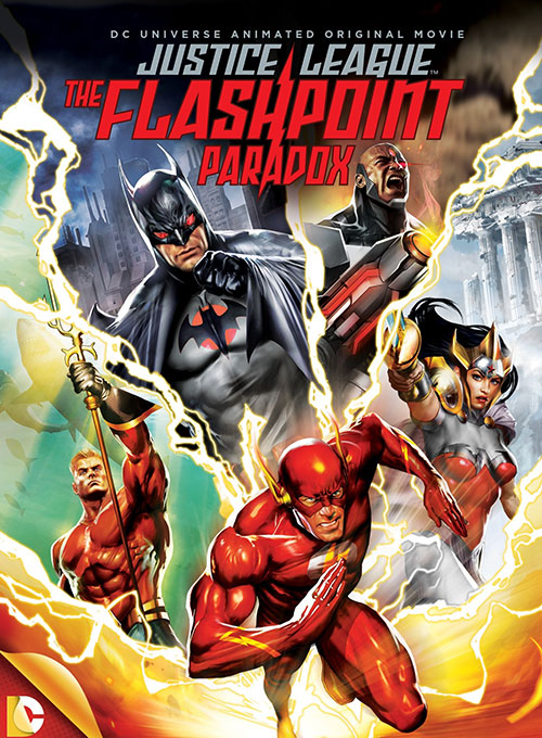 دانلود انیمیشن Justice League: The Flashpoint Paradox 2013