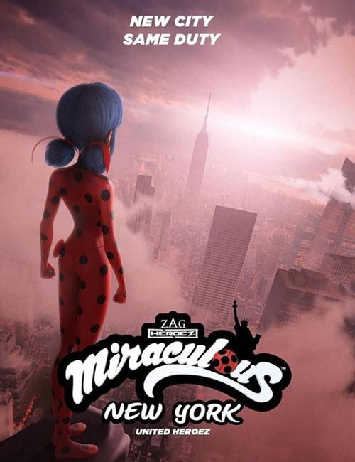 دانلود انیمیشن Miraculous World: New York - United HeroeZ 2020