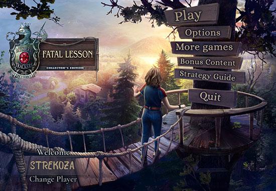 دانلود بازی Mystery Trackers 18: Fatal Lesson Collector's Edition