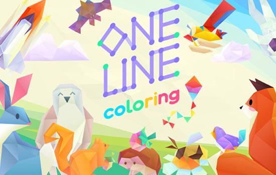 دانلود بازی One Line Coloring 1.0