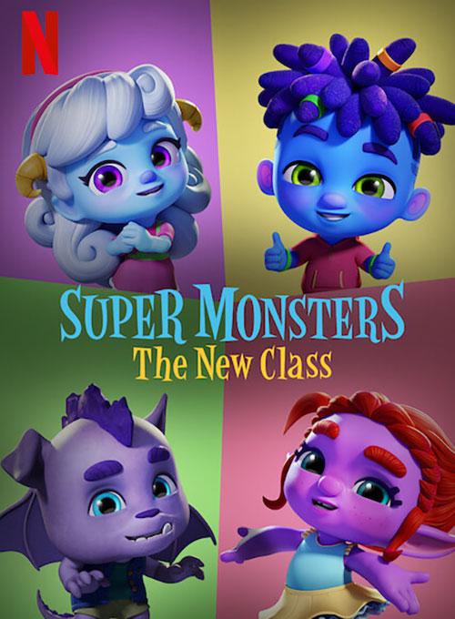 دانلود انیمیشن هیولاهای فوق العاده: کلاس جدید Super Monsters: The New Class2020