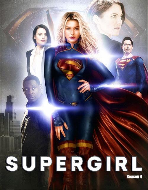 دانلود دوبله فارسی فصل چهارم سریال سوپرگرل Supergirl TV Series