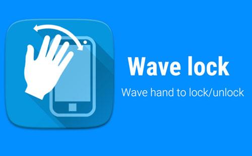 قفل صفحه هوشمند با اپلیکیشن Wave to Unlock and Lock 1.9.0.8