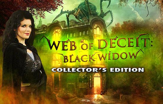 دانلود بازی Web of Deceit: Black Widow Collector's Edition