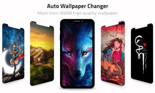 تغییر خودکار تصاویر زمینه با اپلیکیشن Auto Wallpaper Changer 2.3.4