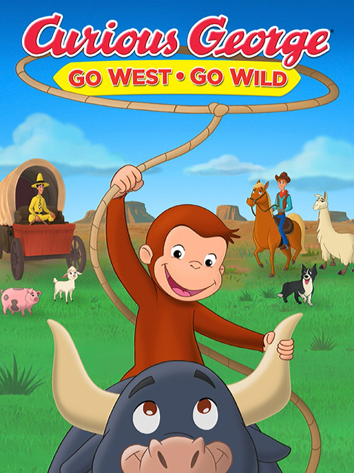 دانلود انیمیشن Curious George: Go West, Go Wild 2020
