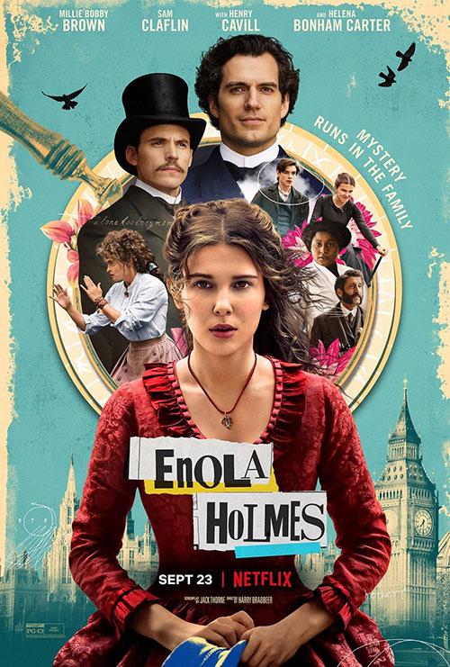 دانلود فیلم انولا هلمز با دوبله فارسی Enola Holmes 2020