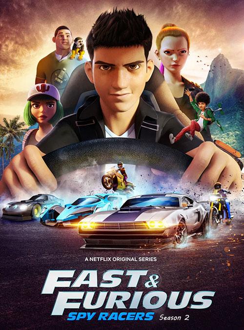 دانلود فصل دوم انیمیشن Fast and Furious Spy Racers Season 2 2020