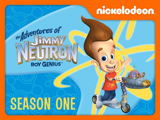 فصل اول انیمیشن ماجراهای جیمی نوترون The Adventures of Jimmy Neutron 2002