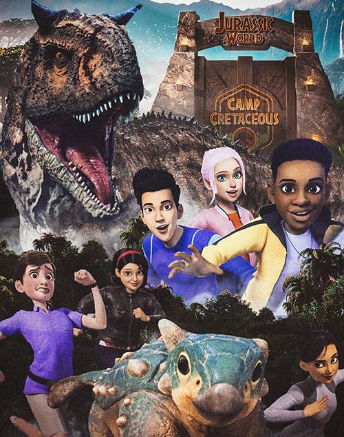 دانلود فصل اول انیمیشن Jurassic World: Camp Cretaceous 2020