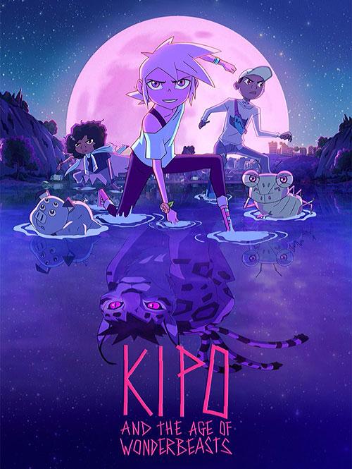 فصل سوم انیمیشن کیپو و عصر هیولاهای عجیب Kipo and the Age of Wonderbeasts